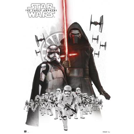 Poster Star Wars Empre White