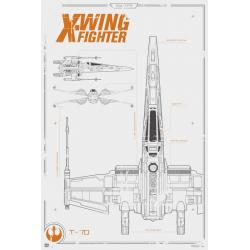Poster Star Wars X-Wing