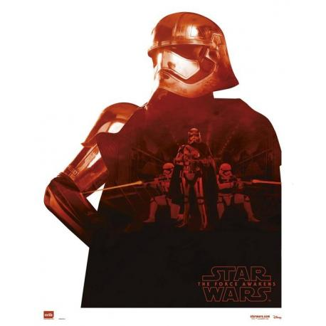 Mini poster Star Wars Capitan Phasma