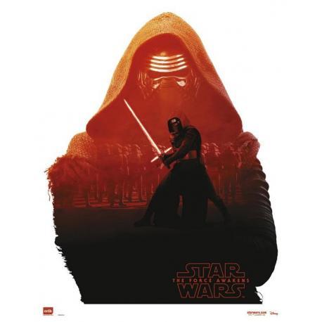 Mini poster Star Wars Kylo Ren