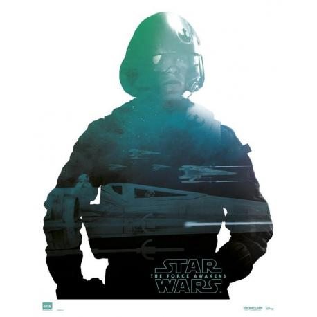 Mini poster Star Wars Poe