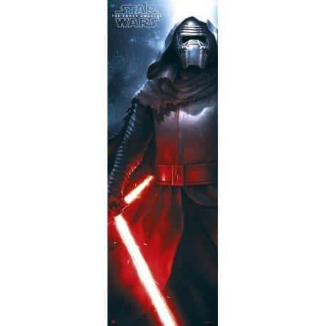 Poster puerta Star Wars Kylo Ren