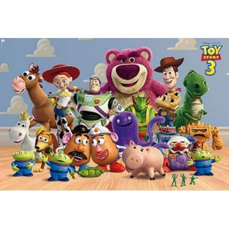 Poster Toy Story 3 Personajes Horizontal