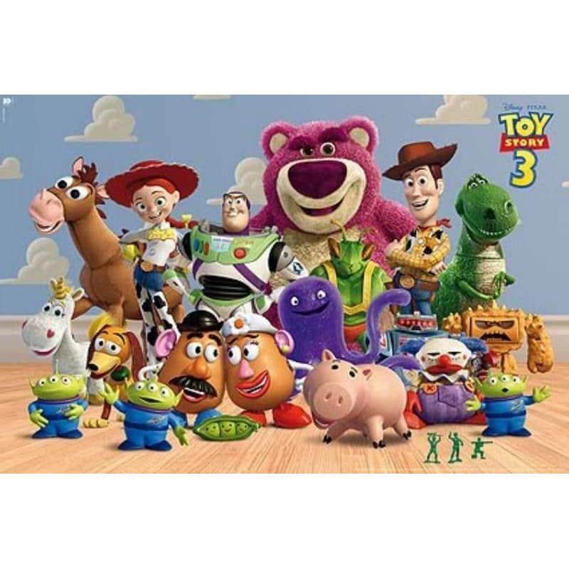 El Poster Toy Story 3 Personajes Horizontal de mejor ...