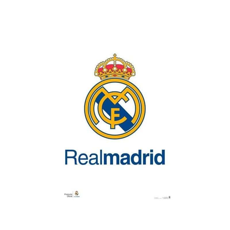 El Poster Real Madrid Escudo Real de mejor calidad y precio en ...