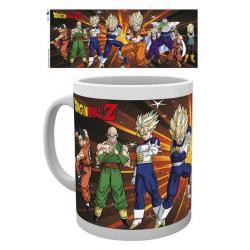 Taza Dragon Ball Z guerreros
