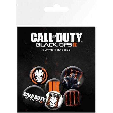 Pack de chapas Call of duty Black Ops 3 Mix