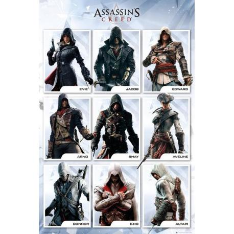Poster Assassins Creed compilación