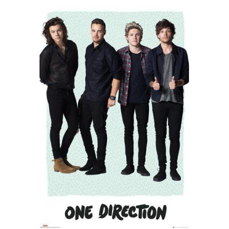 Poster One Direction Mint