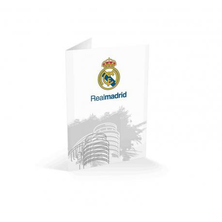 Tarjeta felicitacion Real Madrid generica