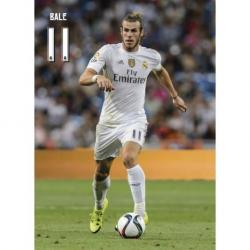 Postal Real Madrid Bale accion 2015/2016