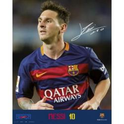 Mini Poster Fc Barcelona Messi 2015/2016