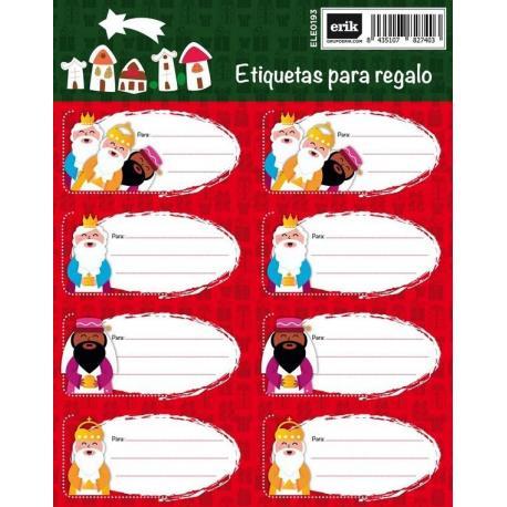 Etiquetas Navidad Reyes Magos