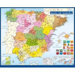 Miniposter Mapa De España