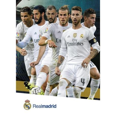 Postal Real Madrid Jugadores 2015/2016