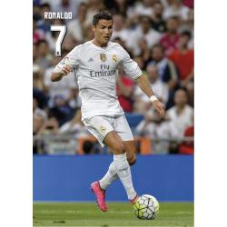 Postal Real Madrid A4 Ronaldo 2015/2016