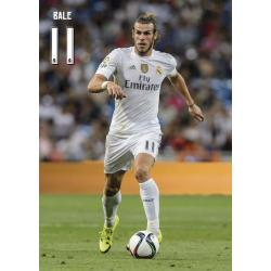 Postal Real Madrid A4 Bale 2015/2016