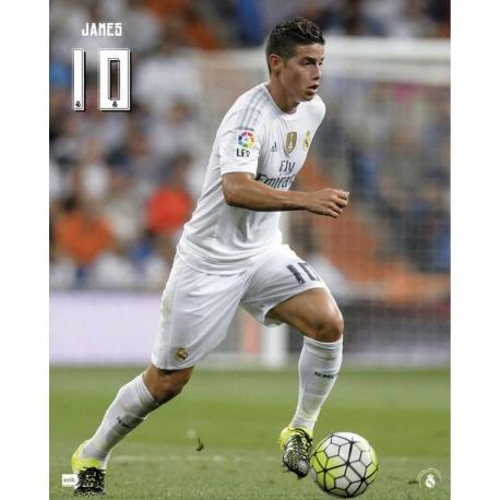 Mini Poster Real Madrid James 2015/2016