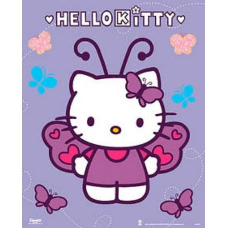 Miniposter Hello Kitty Mariposas