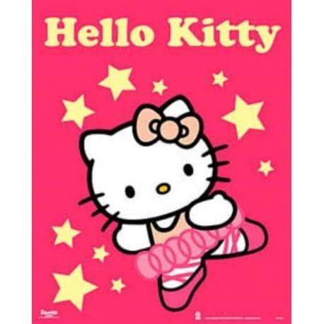 Miniposter Hello Kitty Estrellas