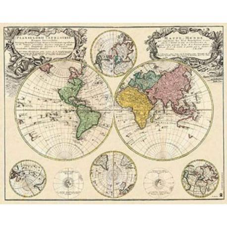 Miniposter Mapa Universal