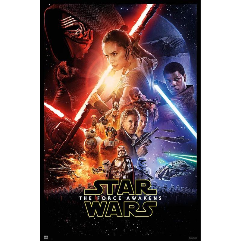 Poster Star Wars Episodio VII - El Despertar de la Fuerza ...