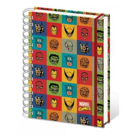 Cuaderno A4 Marvel Retro
