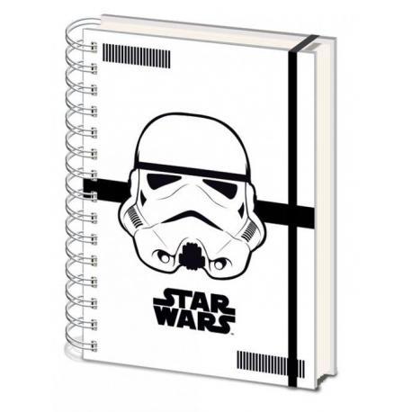 Cuaderno A5 Star Wars Stormtrooper
