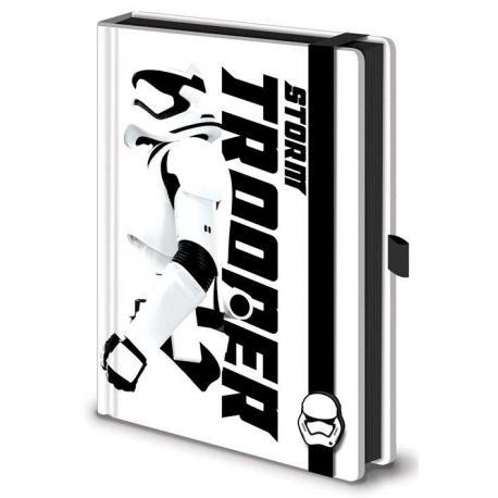 Cuaderno A5 Premium Star Wars Vii Stormtrooper
