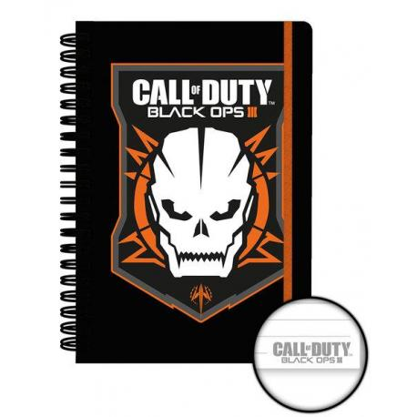 Cuaderno A5 Call of Duty Logo