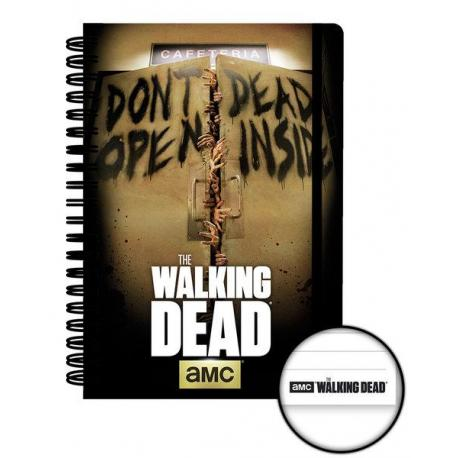 Cuaderno A5 Walking Dead dead inside