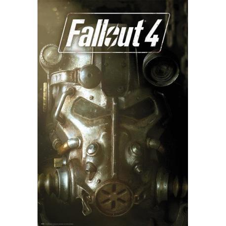 Poster Fallout 4 mascara