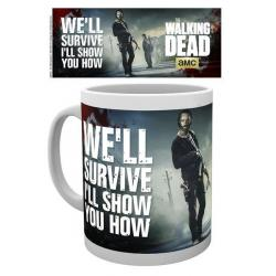 Taza Walking Dead pistolas