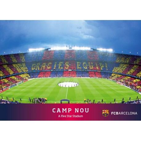 Postal Fc Barcelona Camp Nou