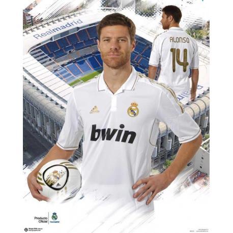 Miniposter Real Madrid Xabi Alonso 2011-2012