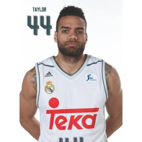 Postal Real Madrid Baloncesto Taylor 2015/2016