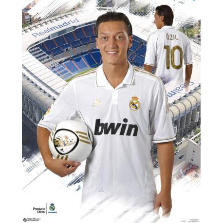 Miniposter Real Madrid Ozil 2011-2012