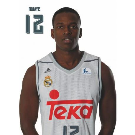Postal Real Madrid Baloncesto Ndiaye2015/2016