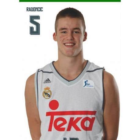 Postal Real Madrid Baloncesto Radoncic 2015/2016