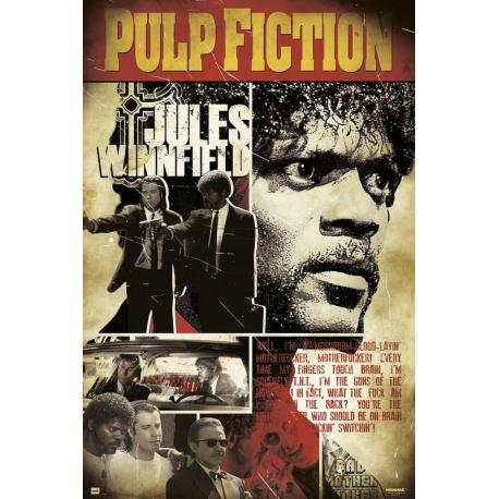 Poster Pulp Fiction Jules