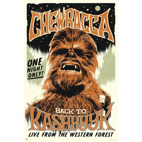 Poster Star Wars Chewbacca