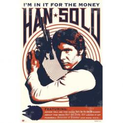 Poster Star Wars Hans Solo