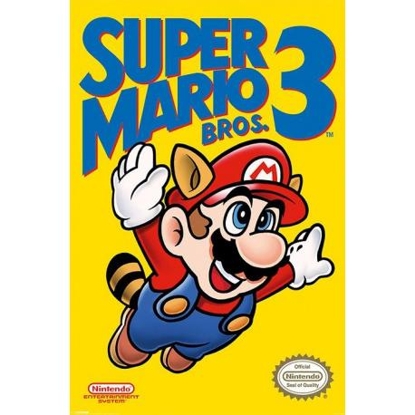 Poster Gamer Super Mario Bros 3