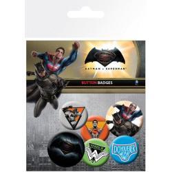 Pack de chapas Batman VS Superman