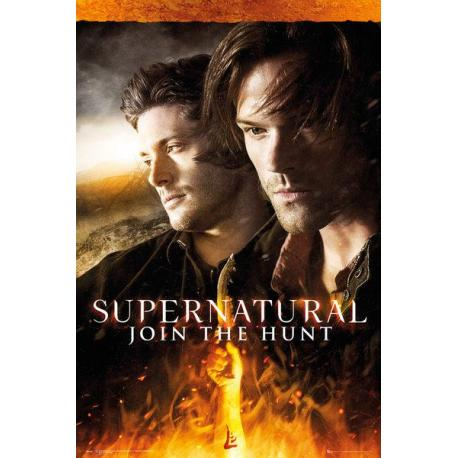 Poster Supernatural Fuego