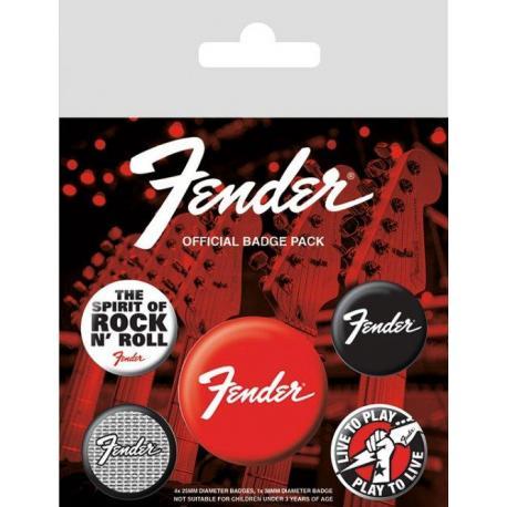 Pack de chapas Fender
