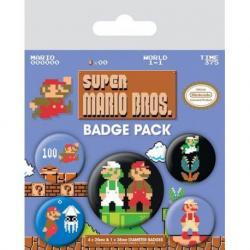 Pack de chapas Super Mario Bros