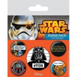 Pack de chapas Star Wars Darth Vader