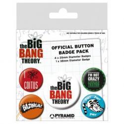 Pack de chapas Big Bang Theory logo