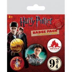 Pack de chapas Harry Potter Gryffindor